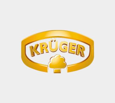 Unsere Kunden Referenz Krüger - das Logo